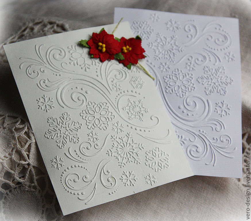 Механические открытки из бумаги