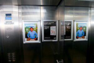 Реклама в лифтах жилых домов. Реклама в лифтах торговых центров. Реклама в лифтах бизнес центров
